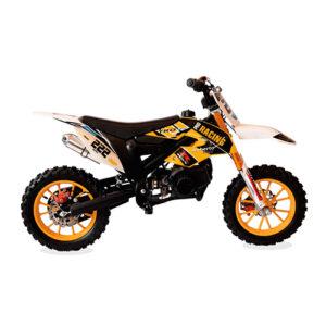 Minimoto R ProRacing 50cc anaranjado